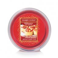 Easy Meltcup FRESH BAKED APPLE CAKE CUP Yankee Candle melt cup cookie swap exclu US