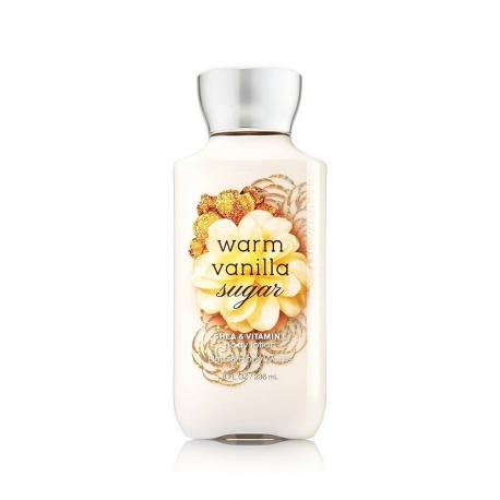 Lait pour le corps WARM VANILLA SUGAR Bath and Body Works body lotion US USA