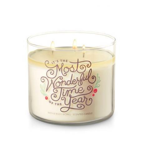 Bougie 3 mèches FRESH BALSAM Bath and Body Works FRANCE