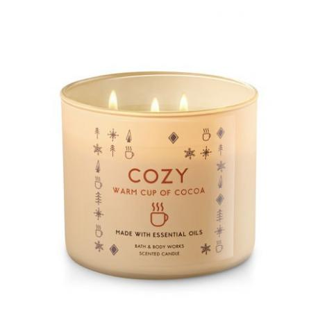 Bougie 3 mèches COZY WARM CUP OF COCOA Bath and Body Works