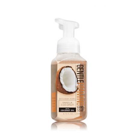 Savon mousse VANILLA COCONUT Bath and Body Works Hand Soap