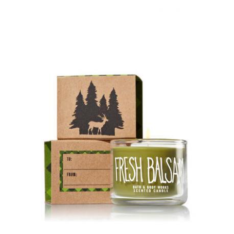 Mini bougie FRESH BALSAM Bath and Body Works candle US USA