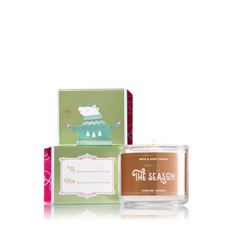 Mini bougie TIS THE SEASON Bath and Body Works candle US USA