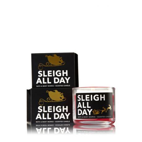 Mini bougie HOLIDAY Bath and Body Works candle US USA
