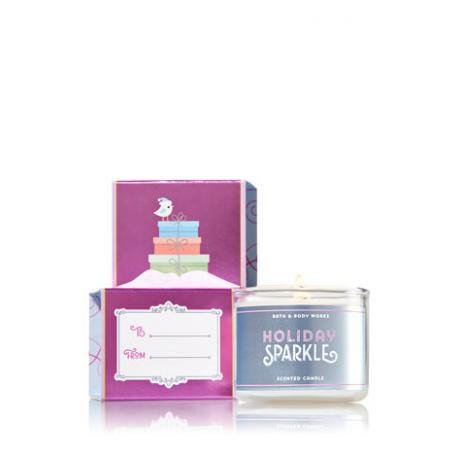 Mini bougie HOLIDAY SPARKLE Bath and Body Works candle US USA