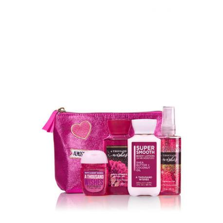 Gift Set A THOUSAND WISHES LARGE Bath and Body Works