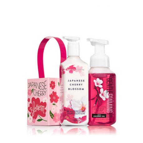 Gift Set JAPANESE CHERRY BLOSSOM DUO Bath and Body Works