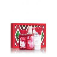 Gift Set JAPANESE CHERRY BLOSSOM GLITTER Bath and Body Works