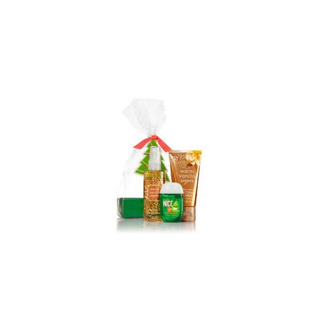 Gift Set WARM VANILLA SUGAR JOLLY Bath and Body Works idée cadeau coffret US USA