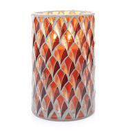 Jar Holder BLUSH MOSAIC Yankee Candle