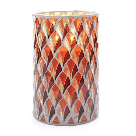 Jar Holder BLUSH MOSAIC Yankee Candle pour bougie parfumée US USA
