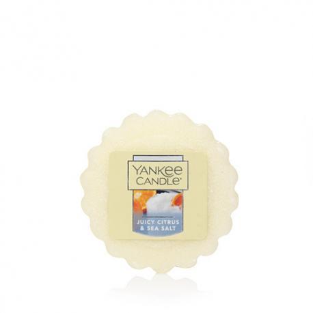 Tartelette de cire parfumée JUICY CITRUS & SEA SALT Yankee Candle exclu US USA