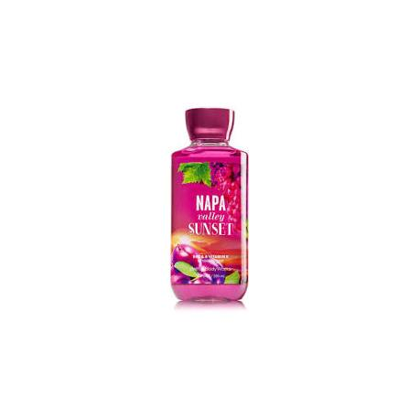 Gel douche NAPA VALLEY SUNSET Bath and Body Works shower gel US USA