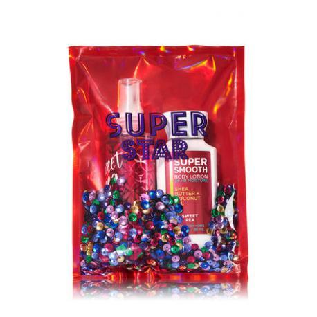 Gift Set SWEET PEA SUPER STAR Bath and Body Works