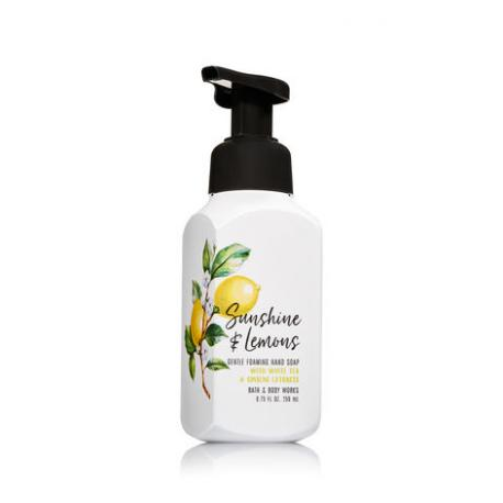 Savon mousse SUNSHINE AND LEMONS Bath and Body Works Hand Soap