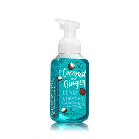 Savon mousse COCONUT AND GINGER Bath and Body Works Hand Soap FRANCE
