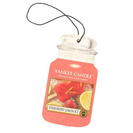 Car Jar STRAWBERRY LEMON ICE Yankee Candle désodorisant voiture US USA