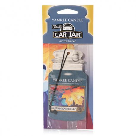 Car Jar AUTUMN GATHERING Yankee Candle