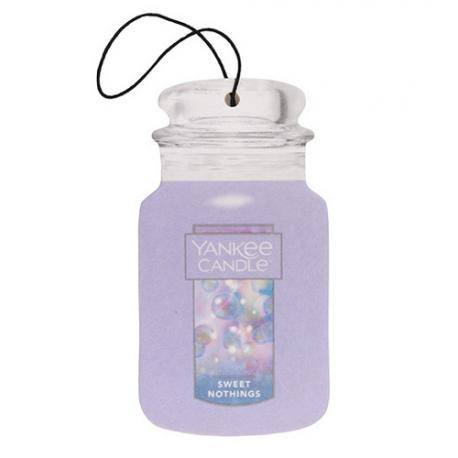 Car Jar WARM LUXE CASHMERE Yankee Candle