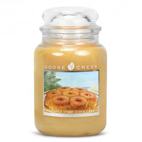 Grande Jarre 2 mèches PINEAPPLE UPSIDE DOWN CAKE Goose Creek Candle
