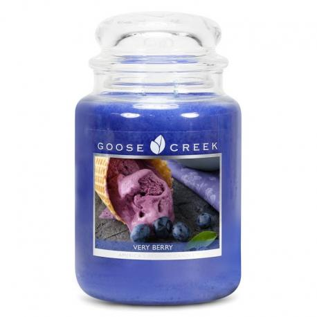 Grande Jarre 2 mèches VERRY BERRY Goose Creek Candle