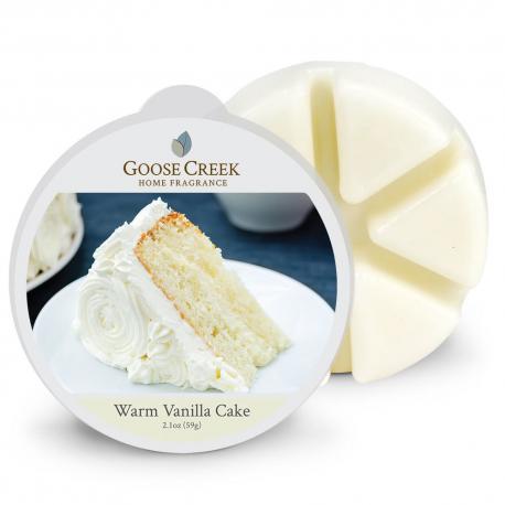 Cire parfumée WARM VANILLA CAKE Goose Creek Candle