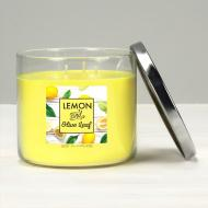 Bougie 3 mèches LEMON AND OLIVE LEAF Elixir Candle MADE IN USA