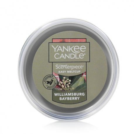 Meltcup WILLIAMSBURG BAYBERRY Yankee Candle