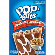 Kellog's Pop tarts CHOCOLATE CHIP COOKIE DOUGH