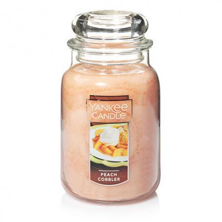 Grande Jarre PEACH COBBLER Yankee Candle