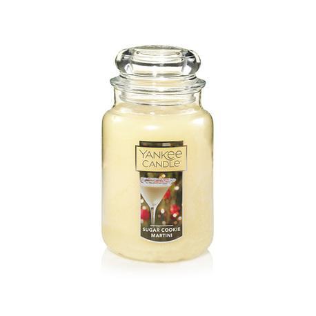 Grande jarre SUGAR COOKIE MARTINI Yankee Candle