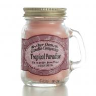 Mini Mason Jar TROPICAL PARADISE Our Own Candle Company