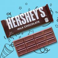 Barre de chocolat HERSHEY'S MILK CHOCOLATE