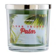 Bougie 3 mèches LUSH ISLAND PALM Sonoma MADE IN USA