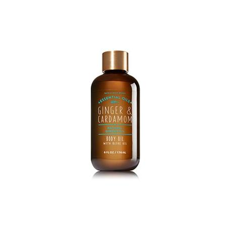 Huile pour le corps GINGER & CARDAMOM Bath and Body Works body oil US USA