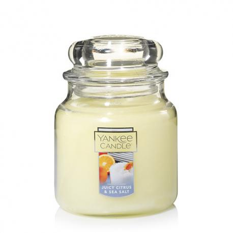 Moyenne Jarre JUICY CITRUS & SEA SALT Yankee Candle exclu US USA