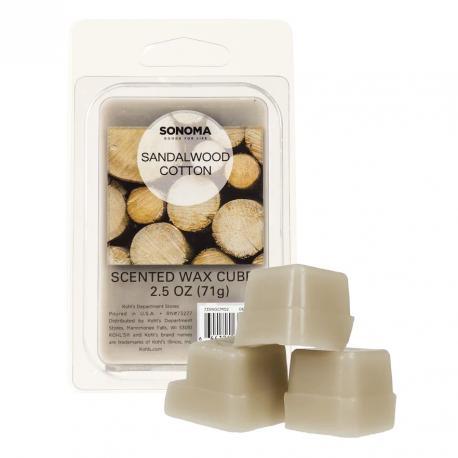Cire parfumée SANDALWOOD COTTON Sonoma