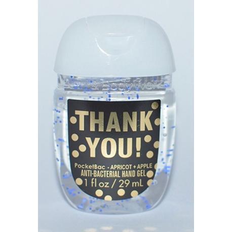 Gel antibactérien THANK YOU Bath and Body Works pocketbac US USA