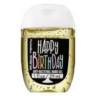 Gel antibactérien HAPPY BIRTHDAY Bath and Body Works pocketbac US USA