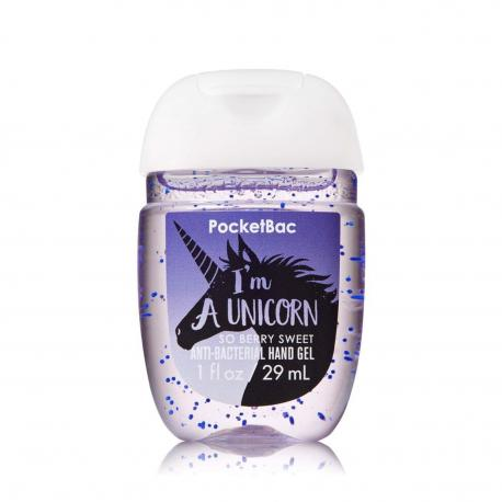 Gel antibactérien I'M A UNICORN Bath and Body Works licorne