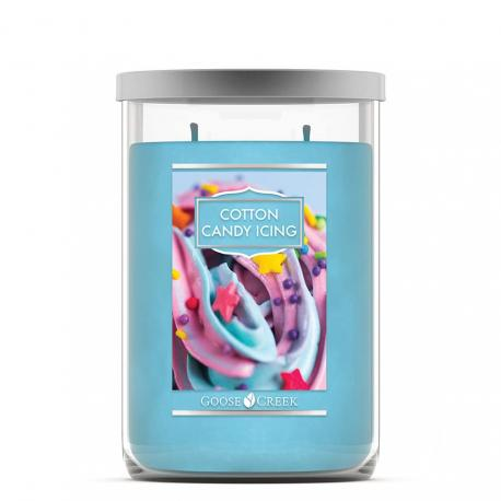 Tumbler 2 mèches COTTON CANDY ICING Goose Creek Candle