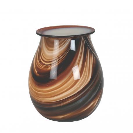 Brûleur de cire électrique ART GLASS MARRON