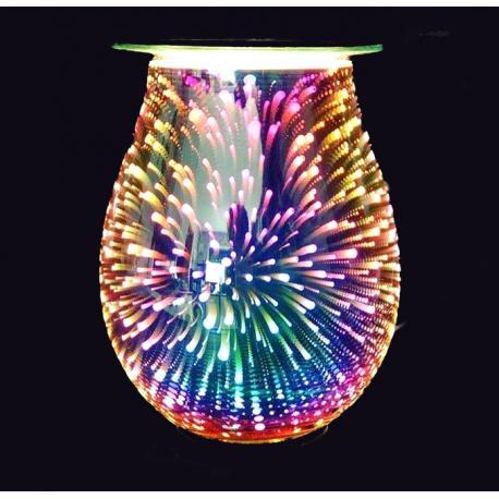 Brûleur de cire électrique effets 3D FEU D ARTIFICE