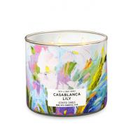 Bougie 3 mèches CASABLANCA LILY Bath and Body Works