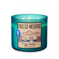Bougie 3 mèches ENDLESS WEEKEND Bath and Body Works