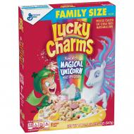 Céréales LUCKY CHARMS UNICORN LICORNE Grand format