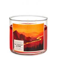 Bougie 3 mèches THE PERFECT AUTUMN Bath and Body Works