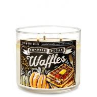Bougie 3 mèches PUMPKIN PECAN WAFFLES Bath & Body Works France