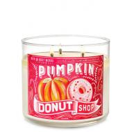 Bougie 3 mèches PUMPKIN DONUT SHOP Bath and Body Works