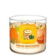 Bougie 3 mèches PUMPKIN SNICKERDOODLE Bath and Body Works